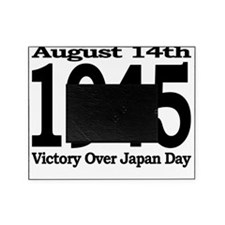 10x10-1945-VJ-Day-Black Picture Frame