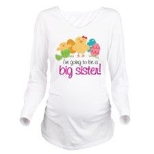 easter2011_back Long Sleeve Maternity T-Shirt