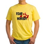 Fear Nobody Yellow T-Shirt