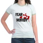 Fear Nobody Jr. Ringer T-Shirt