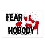Fear Nobody Postcards (Package of 8)
