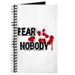Fear Nobody Journal