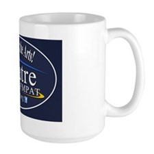 Support-oval-blue2 Mug