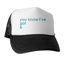 Adonis-White Trucker Hat