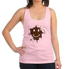 MudSmiley_shirt Racerback Tank Top