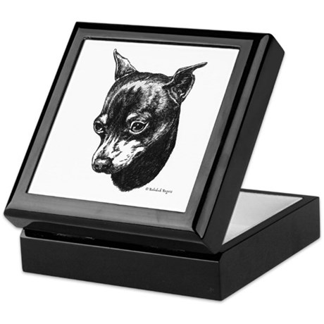 Min Pin Keepsake Box