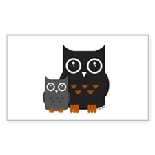 Owls (1) Decal
