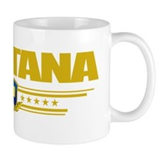 Montana (Flag 10) pocket Coffee Mug