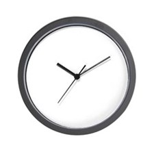 White Infinite Series Wall Clock