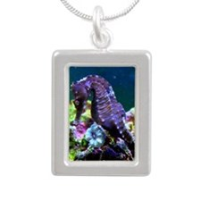 Mustang Male - Shy Boy I Silver Portrait Necklace