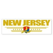 New Jersey (Flag 10) pocket Bumper Sticker