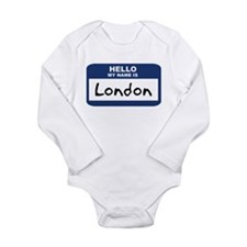 Hello: London Body Suit
