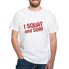 SQUATWH White T-Shirt