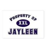 Property of jayleen Postcards (Package of 8)