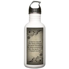 i-care-for-myself_j Sports Water Bottle