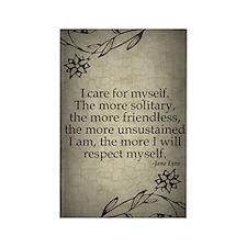 i-care-for-myself_j Rectangle Magnet