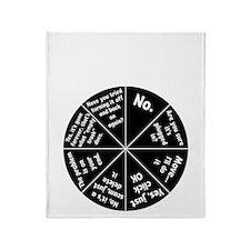 IT Response Wheel Throw Blanket