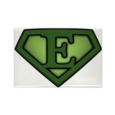 Super green e Rectangle Magnet