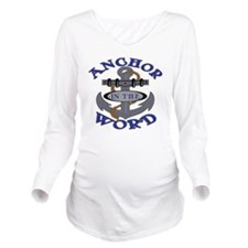 anchor Long Sleeve Maternity T-Shirt