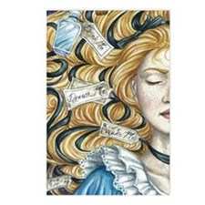 Alice in Wonderland Postcards (Package of 8)