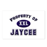Property of jaycee Postcards (Package of 8)