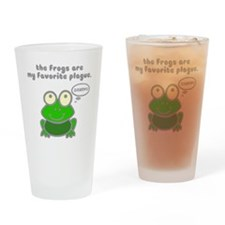 frog-plague Drinking Glass