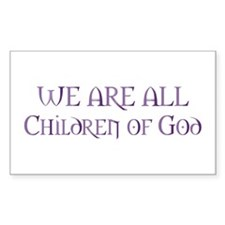 Children of God Rectangle Decal