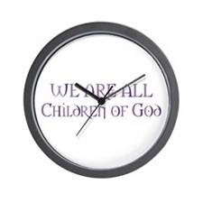 Children of God Wall Clock