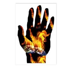 Burning Hand Postcards (Package of 8)
