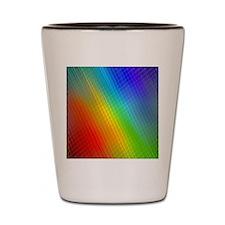 rainbow 21 Shot Glass