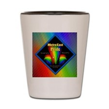 rainbow 22 Shot Glass