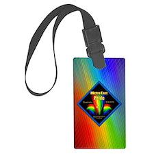 rainbow 24 Luggage Tag