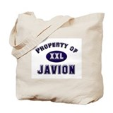 Property of javion Tote Bag
