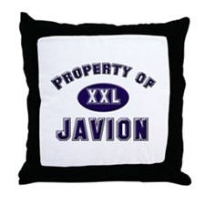 Property of javion Throw Pillow