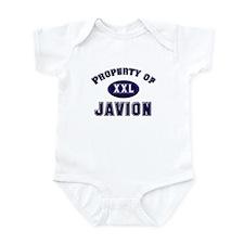 Property of javion Infant Bodysuit