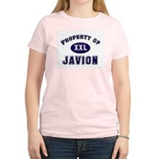 Property of javion Women's Pink T-Shirt