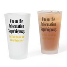 superhighway_tall1 Drinking Glass