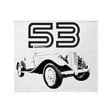 MG TD 1953 copy Throw Blanket