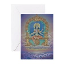 Bhuvaneshwari Greeting Cards (Pk of 10)
