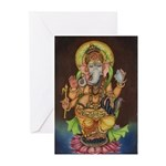 Ganesha Greeting Cards (Pk of 10)