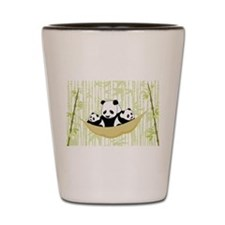 Panda in Hammock Shot Glass
