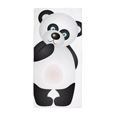 Thinking Panda Beach Towel