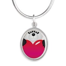 Panda with Heart Necklaces
