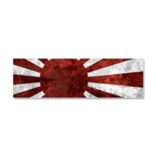 Japanese Rising Sun Bumper Stick Car Magnet 10 x 3