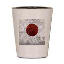 Japanese Disaster Relief Heart Charm Shot Glass