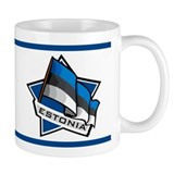 """Estonia Star Flag"" Mug"