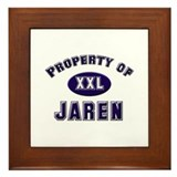 Property of jaren Framed Tile