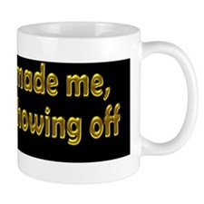 showing-off_bs2 Small Mug