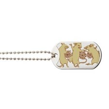 Dancing Mice Dog Tags