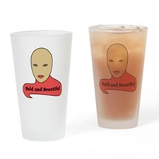 Bald and Beautiful v1.1 Drinking Glass